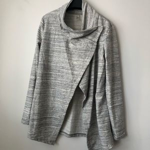 Danskin Draping Grey Sweater